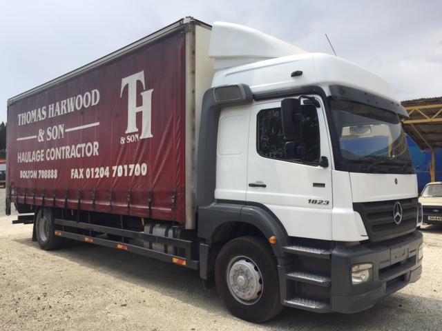 Mercedes Ateco 1823 High Cab Pavlos Zenonos General Motors Used Vans Trucks For Sale In